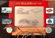 Etch A Sketch Roboter: Spielzeug funktioniert ohne Kinder!