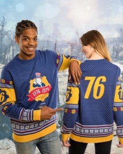 Fallout 76 Weihnachtspullover. (Foto: Merchoid)