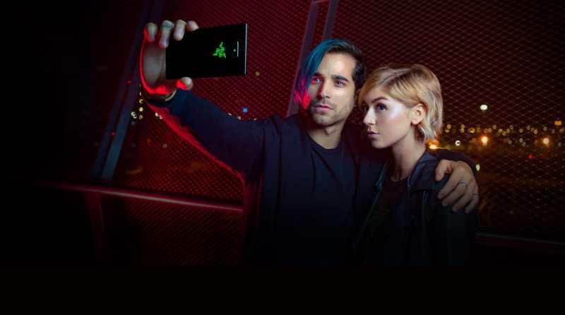 Gute Selfies? Bekommen auch andere Smartphones hin. (Foto: Razer)