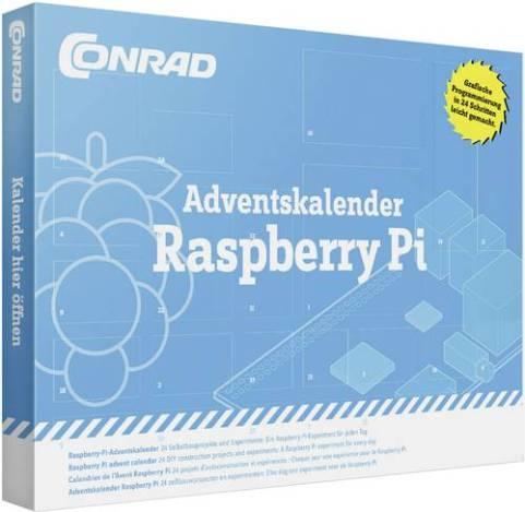 Raspberry Pi Adventskalender. (Foto: Conrad)
