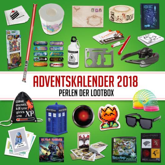 Adventskalender mit Loot-Artikeln. (Foto: GetDigital)