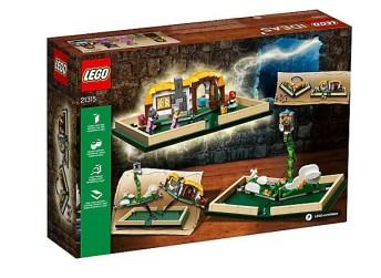Die Rückseite des Buchs. (Foto: LEGO)