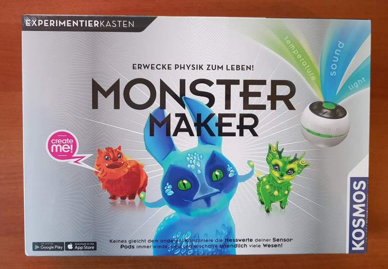 Was bietet der Monster Maker? (Foto: Sven Wernicke)