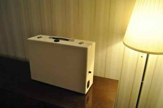 Arcade Suitcase. (Foto: Henry Lähdeoja)