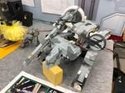 Metal Gear REX: Panzer als funktionierende Miniatur nachgebaut