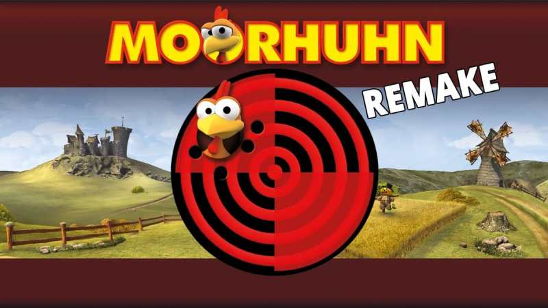 Moorhuhn ist auch als neues Remake erfolgreich. (Foto: Geek Pit)