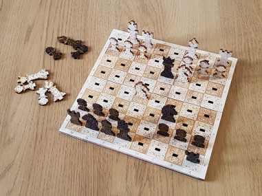 Pixel Schach. (Foto: Etsy)