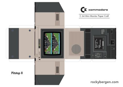 C64 als Bastelvorlage. (Foto: Rocky Bergen)