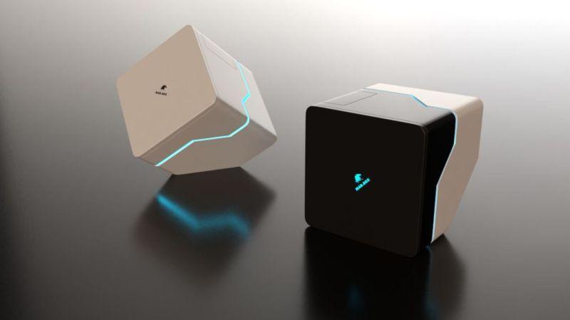 Ein weiterer Prototyp, wie die Mad Box hätte aussehen können. (Foto: Slightly Mad Studios)