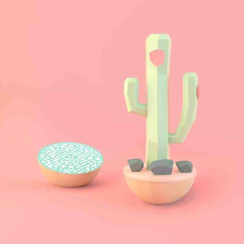 Wie wäre es mit einem virtuellen Kaktus? (Foto: Deskfruit)