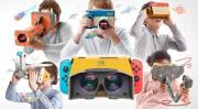 Nintendo Switch: Virtual Reality dank Labo VR-Set