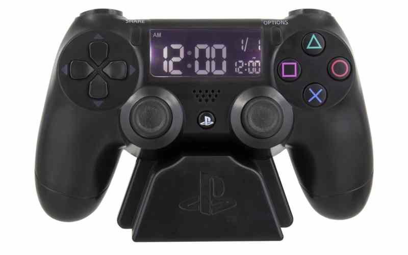 Das ist der PlayStation Wecker. (Foto: Merchoid)