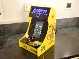 DIY Bartop Arcade mit LED-Matrix. (Foto: Al Linke)