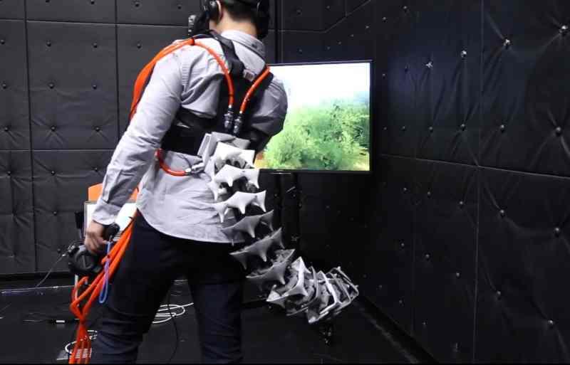 Auch gut geeignet für VR und Spiele. (Foto: Yamen Saraiji)