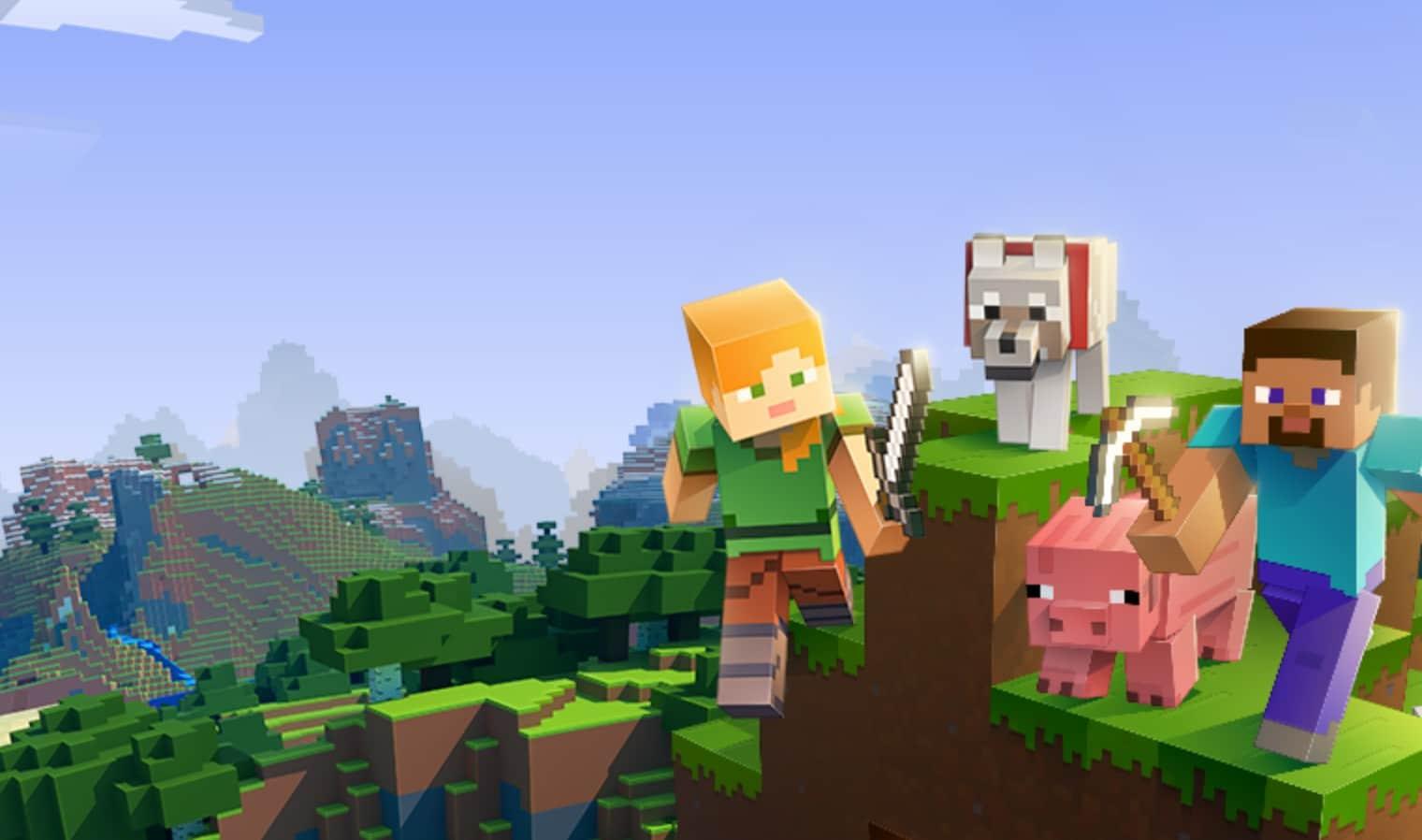 Gibt es kostenlose Minecraft-Spiele? (Foto: Mojang)