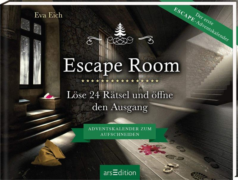 Escape Room Adventskalender - auch so etwas gibt es. (Foto: arsEdition)