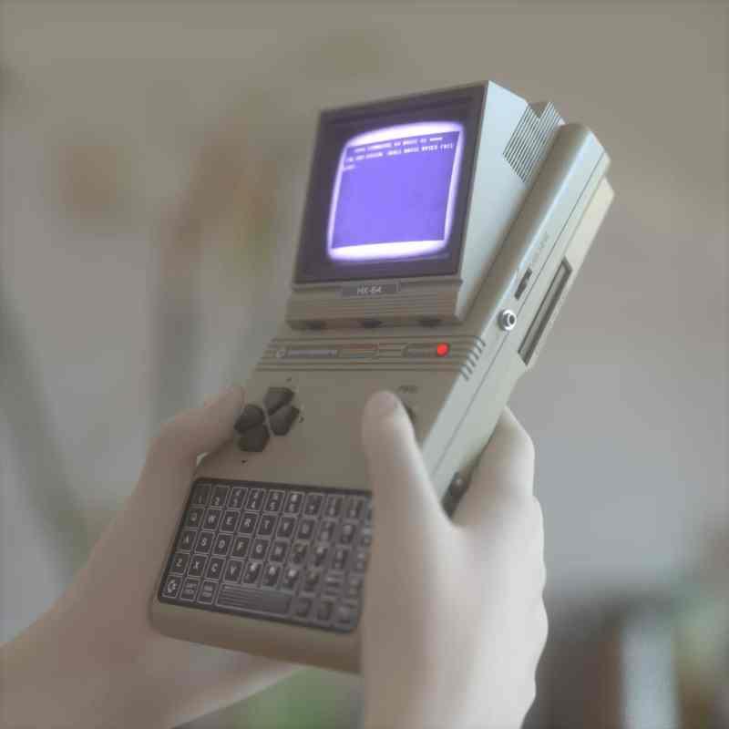 Ein cooler C64 für unterwegs. (Foto: Cem Tezcan)