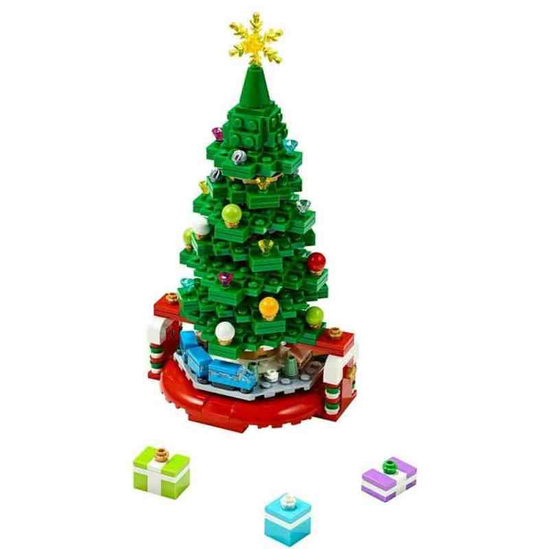 Sieht der LEGO Weihnachtsbaum nicht gut aus? (Foto: LEGO)