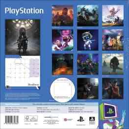 PlayStation Kalender 2020 Rückseite. (Foto: Sony)
