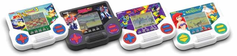 Das sind die neuen LCD-Spiele von Tiger Electronics. (Foto: Hasbro)