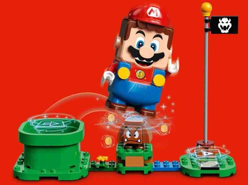 Das ist das Set von LEGO Super Mario. (Foto: Nintendo)
