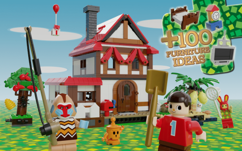 Animal Crossing Home. (Foto: LEGO Ideas)