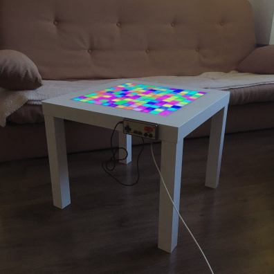 LED Games Table. (Foto: Etsy)
