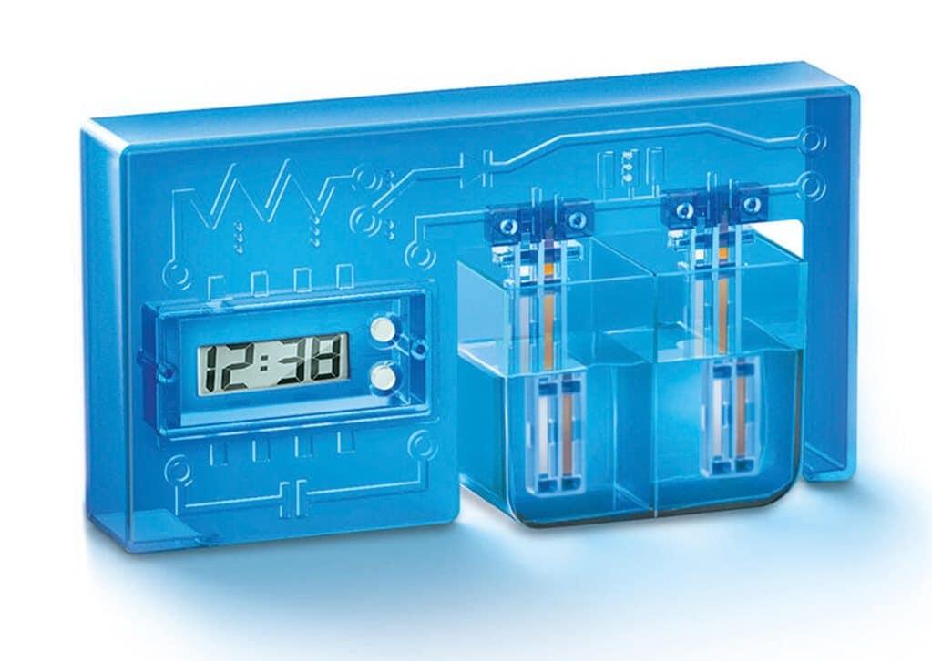 So sieht die wasserbetriebene Uhr aus. (Foto: GetDigital)