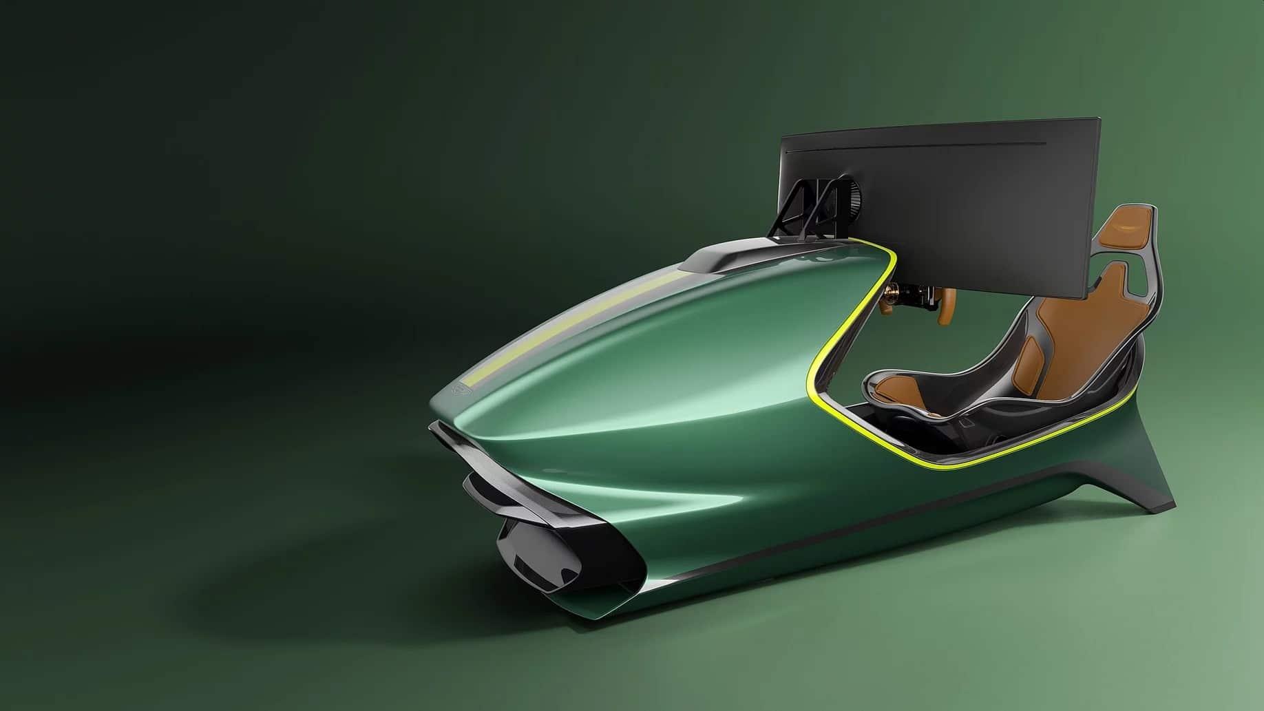 Edel und wirklich ein besonderer Rennsimulator. (Foto: Curv Racing Simulators)