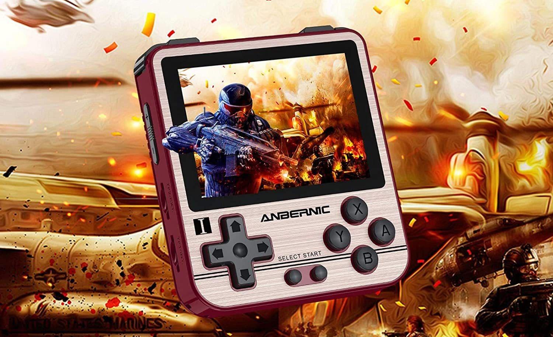 Das ist die Handheldkonsole RG280V. (Foto: Anbernic)