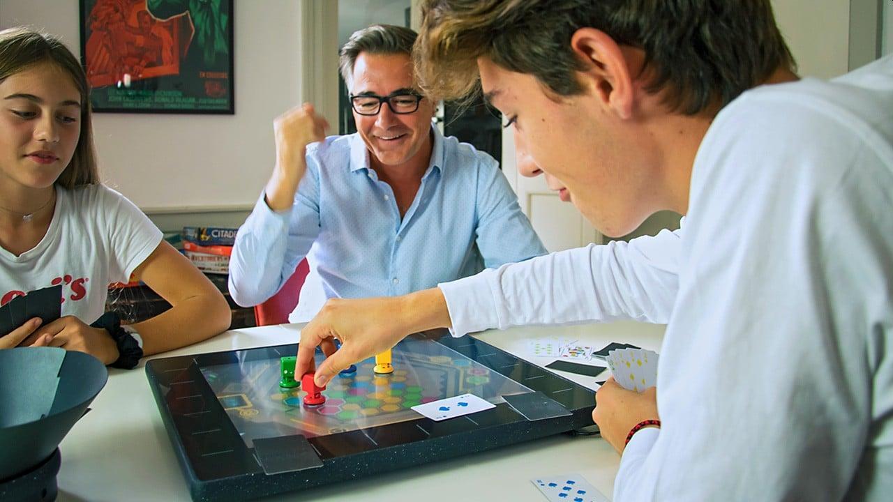 Brettspiel trifft bei SquareOne auf Spielkonsole. (Foto: Wizama)