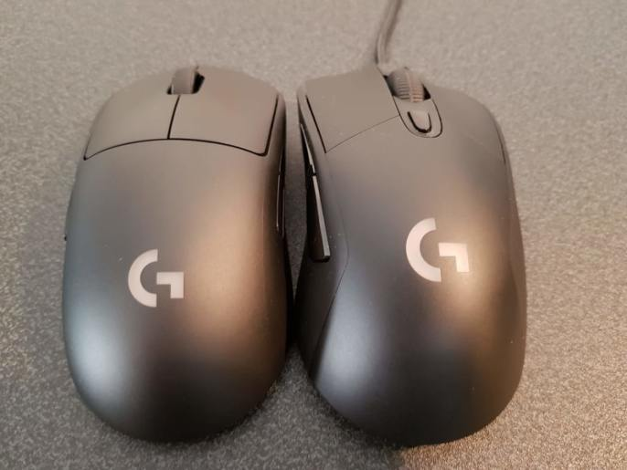 Logitech G Pro Wireless vs Logitech G403G703