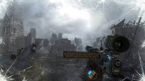 Metro: Last Light Environments: Wasteland