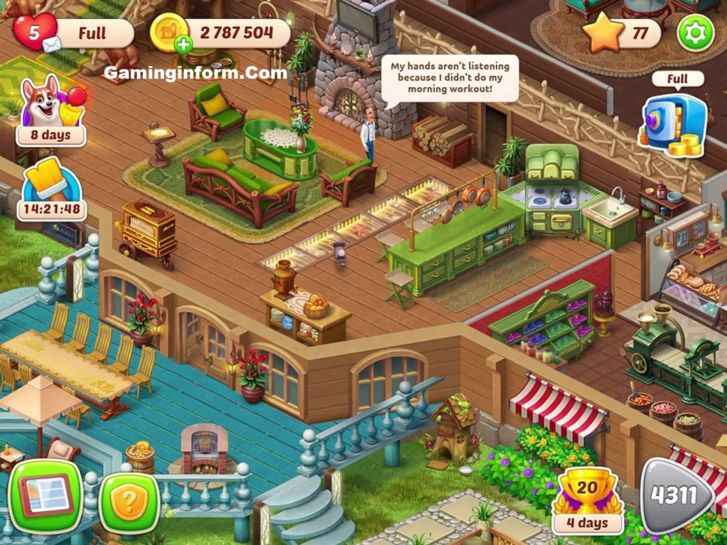 Homescapes APK MOD Download free for android