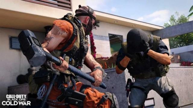 Black Ops Cold War Sledgehammer Melee Weapon