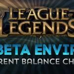 [PBE UPDATE] Balanceamentos, nova opção no menu do jogo, mudança nos talentos!