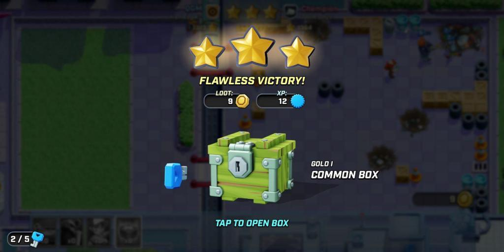 rush wars loot boxes