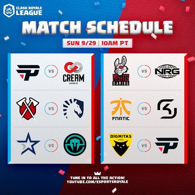 crl west 2019 third week schedule 2