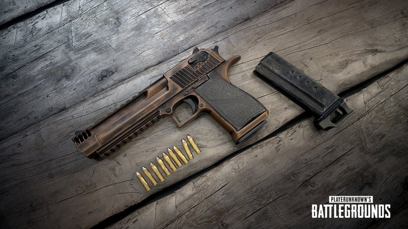 The desert eagle