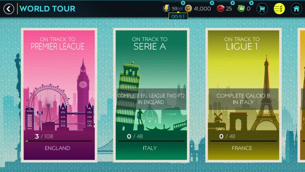 FIFA Mobile 20 world tour