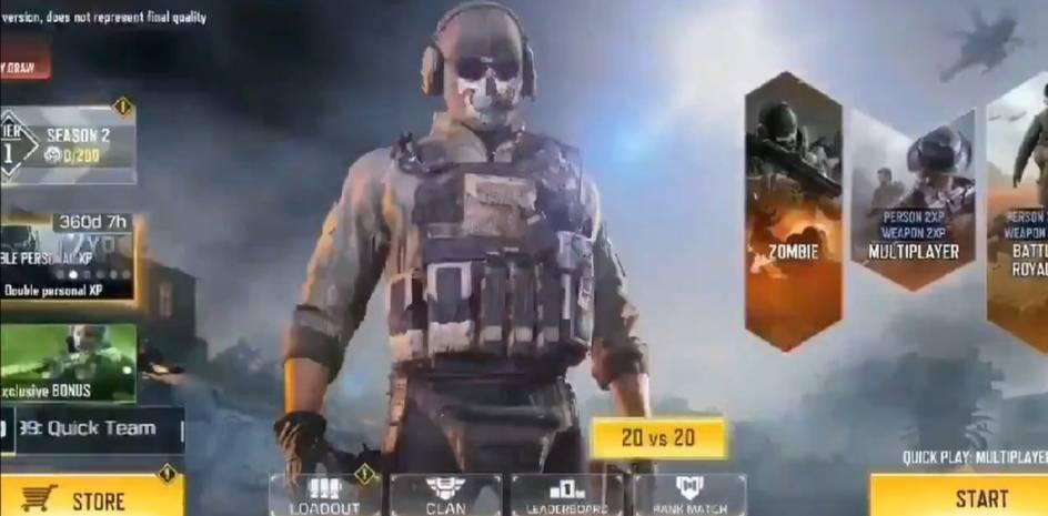 20v20 game mode in call of duty mobile, call of duty mobile season 2 leaks
