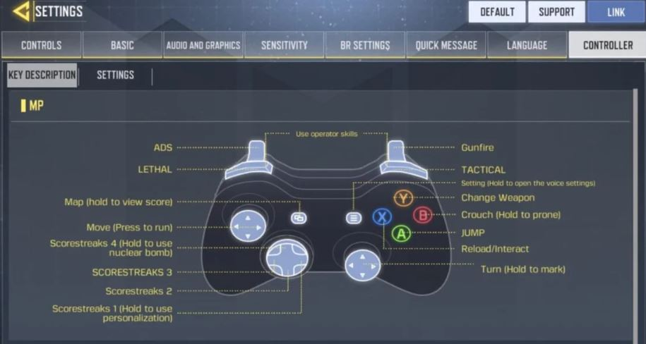 call of duty mobile controller support