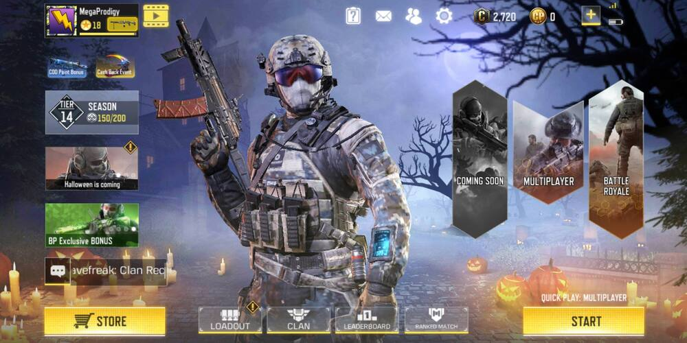 Call of Duty Mobile Halloween update 2019, cod mobile Halloween update, cod mobile zombie