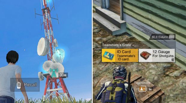 recall towers in pubg mobile, PUBG Mobile tips and tricks