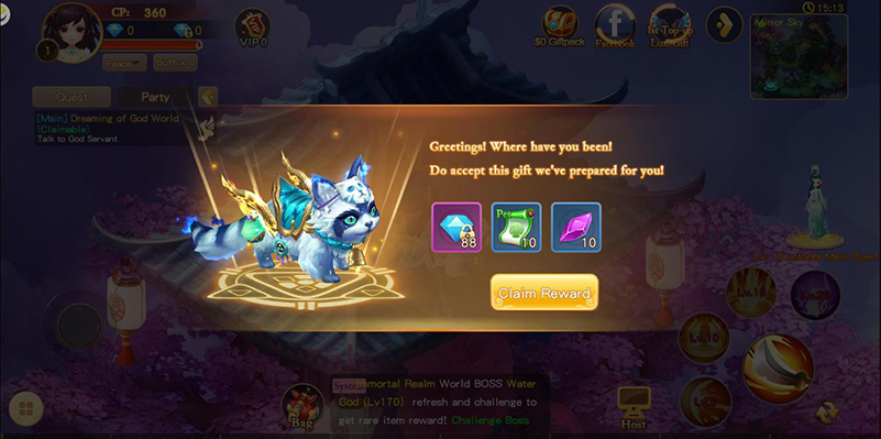 fable valley gift present