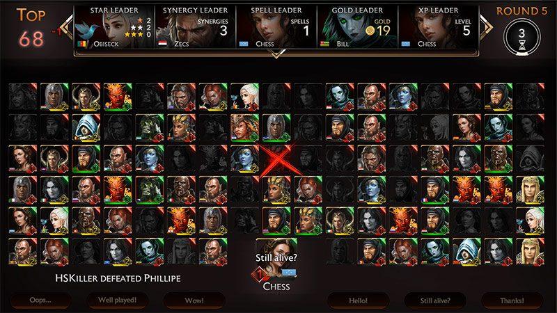 might & magic chess royale screenshot 100 players battle