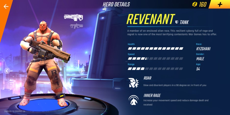 revenant shadowgun war games,