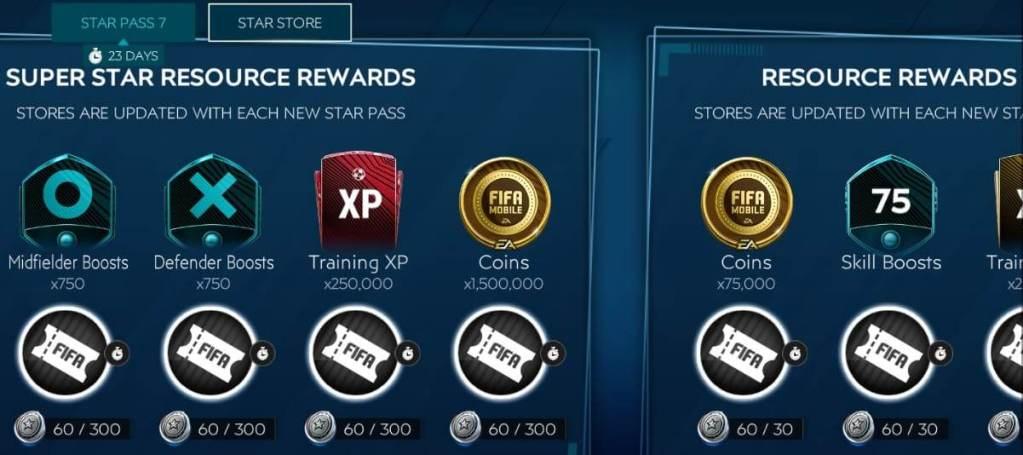 FIFA Mobile 20 Star Pass