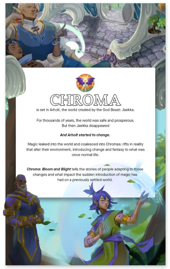 Chroma  Bloom and Blight