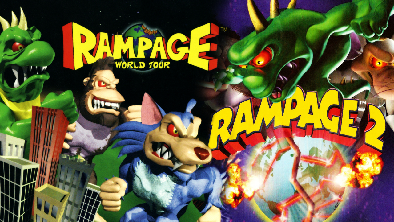 Rampage World Tour Amp Rampage 2 Universal Tour PS1 Review